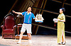 Thunderstorm <br /> by MO Fan <br /> based on the drama by Cao Yu <br /> Shanghai Opera House at The London Coliseum, London, Great Britain <br /> rehearsal <br /> 10th August 2016 <br /> <br /> <br /> <br /> Zhang Fantao as Zhou Chong <br /> Xu Xiaoying as Fanyi <br /> <br /> <br /> <br /> <br /> Photograph by Elliott Franks <br /> Image licensed to Elliott Franks Photography Services