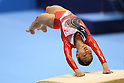 Asuka Teramoto (JPN), JULY 2nd, 2011 - Artistic gymnastics : Japan Cup 2011 .Women's Team Competition Vault at Tokyo Metropolitan Gymnasium, Tokyo, Japan. (Photo by YUTAKA/AFLO SPORT)