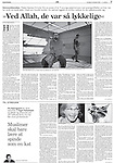 Politiken, Denmark - November 14, 2004