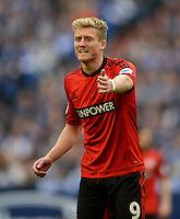FUSSBALL   1. BUNDESLIGA   SAISON 2012/2013    29. SPIELTAG FC Schalke 04 - Bayer 04 Leverkusen                        13.04.2013 Andre Schuerrle (Bayer 04 Leverkusen)