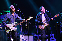 LONDON, ENGLAND - APRIL 13: Graham Gouldman and Mick Wilson of '10cc' performing at The London Palladium on April 13, 2017 in London, England.<br /> CAP/MAR<br /> &copy;MAR/Capital Pictures