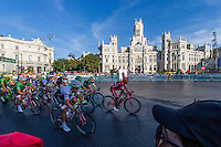 La Vuelta of Spain in Madrid