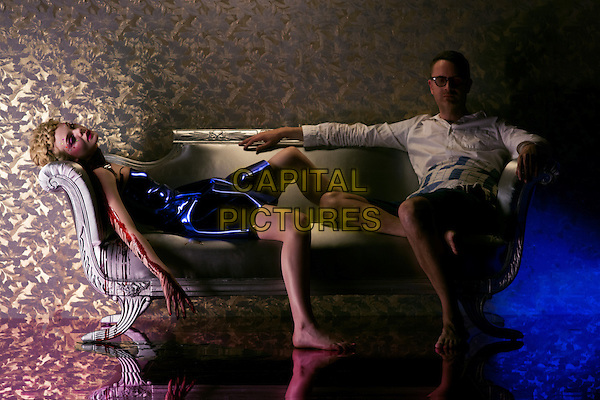 The Neon Demon (2016) <br /> Elle Fanning, Nicolas Winding Refn (Director)<br /> *Filmstill - Editorial Use Only*<br /> CAP/KFS<br /> Image supplied by Capital Pictures