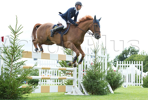 29th July 2010: Longines, Royal International, Horse Show, Show Jumping, Hickstead, England, Julien Epaillard of FRA on Mister DavierThe Bunn Leisure Trophy