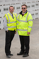 Logistics Manager Rob Pettican (left), and Martin Ashton from Linde