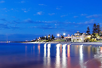 A perfectly calm spring evening on Cottesloe Beach.