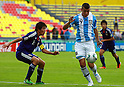 Jumpei Arai (JPN), Lucas Vera (ARG), JUNE 24th, 2011 - Football : 2011 FIFA U-17 World Cup Mexico Group B match between Japan 3-1 Argentina at Estadio Morelos in Morelia, Mexico. (Photo by MEXSPORT/AFLO)..