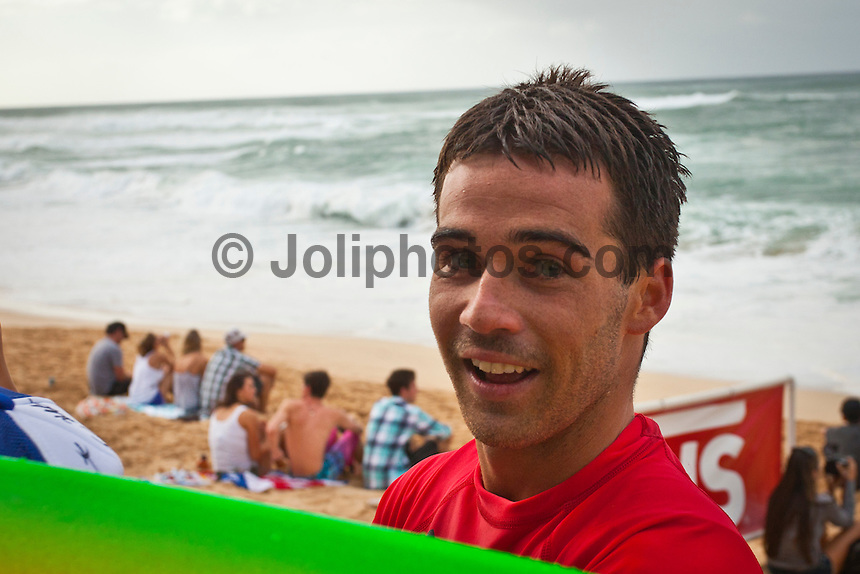 HONOLULU/Oahu/Hawaii.(Nov. 27, 2011) Mason Ho (HAW). -- The $250,000 Vans World Cup of Surfing commenced today  in serious 10- to 12-foot surf at Sunset Beach on Oahu's North Shore. The Vans World Cup is the second leg of the 29th annual Vans Triple Crown of Surfing, presented by Rockstar Energy Drink.. Photo: joliphotos.com