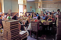 Partagas Cigar Factory, Havana, Female Cigar Factory Workers, Republic of Cuba,