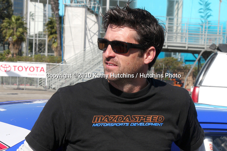 Patrick Dempsey.drops by Toyota Celebrity Race Press Day - Toyota Long Beach Grand Prix.Hollywood Blvd.Long Beach, CA.April 6, 2010.©2010 Kathy Hutchins / Hutchins Photo...