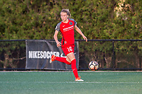 Boston, MA - Friday May 19, 2017: Emily Sonnett during a regular season National Women's Soccer League (NWSL) match between the Boston Breakers and the Portland Thorns FC at Jordan Field.