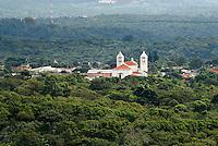 Spanish colonial town of Juayua in western el Salvador, Central America