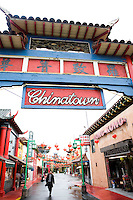Chinatown Los Angeles, California
