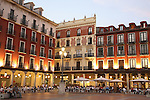 Plaza Mayor Square; Valladolid; Spain