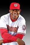 25 February 2007: Washington Nationals pitcher Jesus Colome poses for his Photo Day portrait at Space Coast Stadium in Viera, Florida.<br /> <br /> Mandatory Photo Credit: Ed Wolfstein Photo<br /> <br /> Note: This image is available in a RAW (NEF) File Format - contact Photographer.