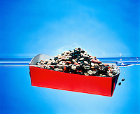 BUOYANCY: BOAT FILLED WITH BEANS (4 of 5)<br />
