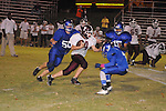 Water Valley Middle School vs. Pope in football action in Water Valley, Miss. on Tuesday, October 16, 2012.