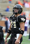 07 October 2006: Wake Forest's Riley Skinner. The Clemson University Tigers defeated the Wake Forest University Demon Deacons 27-17 at Groves Stadium in Winston-Salem, North Carolina in an Atlantic Coast Conference NCAA Division I College Football game.