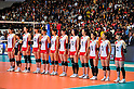 Japan Women's Volleyball Team Group (JPN),.NOVEMBER 17,2011 - Volleyball : FIVB Women's Volleyball World Cup 2011,4th Round Tokyo(A) during match between Japan 3-2 Germany at 1st Yoyogi Gymnasium, Tokyo, Japan. (Photo by Jun Tsukida/AFLO SPORT) [0003].