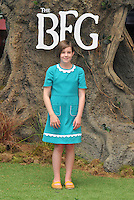 Ruby Barnhill at the &quot;The BFG&quot; UK film premiere, Odeon Leicester Square cinema, Leicester Square, London, England, UK, on Sunday 17 July 2016.<br /> CAP/CAN<br /> &copy;CAN/Capital Pictures /MediaPunch ***NORTH AND SOUTH AMERICAS ONLY***