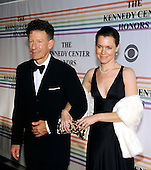 Washington, DC - December 2, 2007 -- Lyle Lovett and April Kimble arrive at the John F. Kennedy Center for the Performing Arts for the gala performance honoring the 30th Annual Kennedy Center honorees in Washington, D.C. on Sunday, December 2, 2007. The honorees for 2007 are: Leon Fleischer, Steve Martin, Diana Ross, Martin Scorsese, and Brian Wilson..Credit: Ron Sachs / CNP
