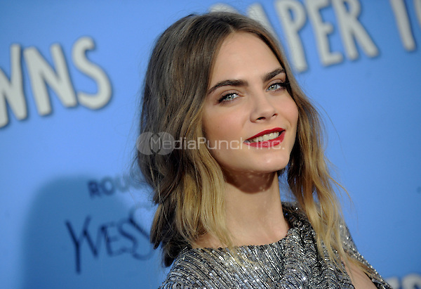 Cara Delevingne attends the 'Paper Towns' New York Premiere at AMC Loews Lincoln Square  on July 21, 2015 in New York. Credit: Dennis Van Tine/MediaPunch