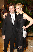 Washington, DC - May 1, 2004 -- George Stephanopoulos and his wife arrive for the 2004 White House Correspondents Association Dinner in Washington, D.C. on May 1, 2004..Credit: Ron Sachs / CNP.(RESTRICTION: No New York Metro or other Newspapers within a 75 mile radius of New York City)