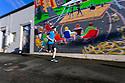 PE00251-00...WASHINGTON - Pierce Prohovost jogging in Edmonds. (MR# P9)