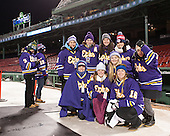 The Williams women's team was in attendance at Frozen Fenway. - The Williams College Ephs defeated the Trinity College Bantams 4-2 (EN) on Tuesday, January 7, 2014, at Fenway Park in Boston, Massachusetts.