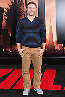 """HOLLYWOOD, LOS ANGELES, CA, USA - MAY 08: Scott Porter at the Los Angeles Premiere Of Warner Bros. Pictures And Legendary Pictures' """"Godzilla"""" held at Dolby Theatre on May 8, 2014 in Hollywood, Los Angeles, California, United States. (Photo by Xavier Collin/Celebrity Monitor)"""
