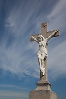 Mexican Cemetery 10 - Photograph taken in El Panteón Cementario, also know as Cementario Viejo or old cemetery, in Puerto Vallarta, Mexico.