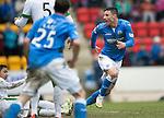 St Johnstone v Celtic.....14.02.15<br /> Michael O'Halloran gets a goal back for saints<br /> Picture by Graeme Hart.<br /> Copyright Perthshire Picture Agency<br /> Tel: 01738 623350  Mobile: 07990 594431