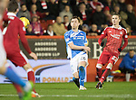 Aberdeen v St Johnstone&hellip;10.12.16     Pittodrie    SPFL<br />Liam Craig shoots at goal<br />Picture by Graeme Hart.<br />Copyright Perthshire Picture Agency<br />Tel: 01738 623350  Mobile: 07990 594431