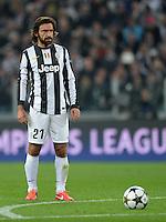 FUSSBALL  CHAMPIONS LEAGUE  VIERTELFINALE  RUECKSPIEL  2012/2013      Juventus Turin - FC Bayern Muenchen        10.04.2013  Andrea Pirlo (Juventus Turin)