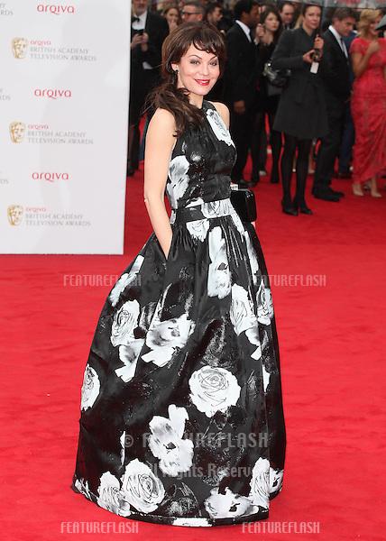 Helen McCrory arriving for the TV BAFTA Awards 2013, Royal Festival Hall, London. 12/05/2013 Picture by: Alexandra Glen / Featureflash