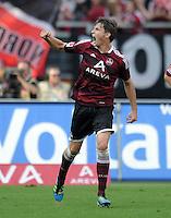 FUSSBALL   1. BUNDESLIGA  SAISON 2011/2012   6. Spieltag 1 FC Nuernberg - SV Werder Bremen         17.09.2011 JUBEL nach dem Tor zum 1:1 Philipp Wollscheid (1 FC Nuernberg)