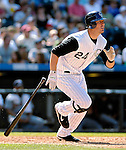 26 August 2007:  Colorado Rockies third baseman Ian Stewart in action against the Washington Nationals at Coors Field in Denver, Colorado. The Rockies defeated the Nationals 10-5 to sweep the 3-game series...Mandatory Photo Credit: Ed Wolfstein Photo