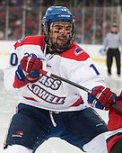 Ryan McGrath (UML - 10) - The Northeastern University Huskies defeated the University of Massachusetts Lowell River Hawks 4-1 (EN) on Saturday, January 11, 2014, at Fenway Park in Boston, Massachusetts.