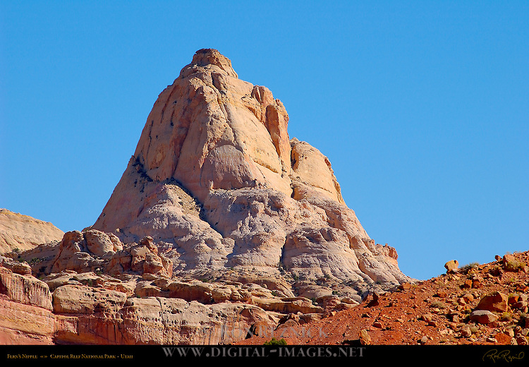 Fern's Nipple, Capitol Reef National Park, Utah