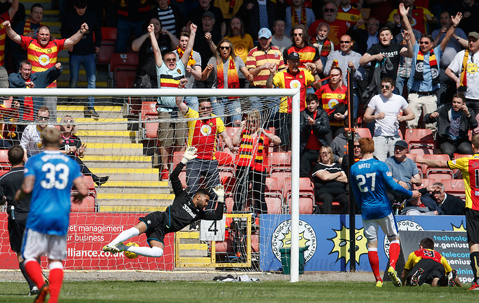 Kris Doolan scores with a free header