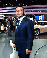 Carlos Ghosn Nissan Motors