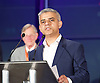 Mayor of London and London Assembly results announcement at City Hall, London, Great Britain <br /> 6th May 2016 <br /> <br /> <br /> <br /> Sadiq Khan - Labour <br /> <br /> The winner was Sadiq Khan who is appointed the new mayor of London <br /> <br /> <br /> <br /> Photograph by Elliott Franks <br /> Image licensed to Elliott Franks Photography Services