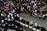 Druze during a rally supporting Syrian president Assad, in Majdal Shams, Golan Heights.