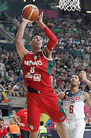 2014 FIBA BASKETBALL WORLD CUP. ROUND OF 16. USA v MEXICO.