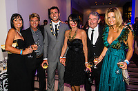 SURFERS PARADISE, Queensland/Australia (Friday, March 1, 2013) Sister Bianca Pakinson, brother in law Mark Richardson (AUS), Joel Parkinson (AUS), mother Jo Parkinson, father Brian Parkinson and wife Monica Parkinson. - The world's best surfers congregated last night at the QT Hotel in Surfers Paradise to celebrate the 2013 ASP World Surfing Awards, officially crowning last year's ASP World Champions and welcoming in the new year..Joel Parkinson (AUS), 31, long considered to be a threat to the ASP World Title ever since his inception amongst the world's elite over a decade ago, was awarded his maiden crown last night. Amidst a capacity crowd of the world's best surfers and hometown supporters, the Gold Coast stalwart brought the house down with a heartfelt and emotional speech..?It's beautiful to have everyone here tonight,? Parkinson said. ?We all come together and really celebrate last season amongst our friends and family. The new year, for me, begins tomorrow. Tonight, I just feel so fortunate to be up here and to be supported by my beautiful family. I love them and am only here because of them.?.FULL LIST OF AWARDS' RECIPIENTS:.2012 ASP World Champion: Joel Parkinson (AUS).2012 ASP World Runner-Up: Kelly Slater (USA).2012 ASP Rookie of the Year: John John Florence (HAW).2012 ASP Women's World Champion: Stephanie Gilmore (AUS).2012 ASP Women's World Runner-up: Sally Fitzgibbons (AUS).2012 ASP Women's Rookie of the Year: Malia Manuel (HAW).2012 ASP Breakthrough Performer: Sebastian Zietz (HAW).2012 ASP Women's Breakthrough Performer: Lakey Peterson (USA).2012 ASP World Longboard Champion: Taylor Jensen (USA).2012 ASP Women's World Longboard Champion: Kelia Moniz (HAW).2012 ASP World Junior Champion: Jack Freestone (AUS).2012 ASP Women's World Junior Champion: Nikki Van Dijk (AUS).ASP Life Member/Chairman Emeritus: Richard Grellman.ASP Service to the Sport: Randy Rarick.Peter Whittaker Award: Adrian Buchan.2012 ASP Men's Heat of the Year (Fan Vote): Mick Fanning (