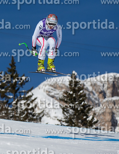 19.01.2013, Olympia delle Tofane, Cortina d Ampezzo, ITA, FIS Weltcup Ski Alpin, Abfahrt, Damen, im Bild Andrea Fischbacher (AUT) // Andrea Fischbacher of Austria in action during the ladies Downhill of the FIS Ski Alpine World Cup at the Olympia delle Tofane course, Cortina d Ampezzo, Italy on 2013/01/19. EXPA Pictures © 2013, PhotoCredit: EXPA/ Johann Groder