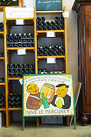 wine shop shelves domaine michel juillot mercurey burgundy france