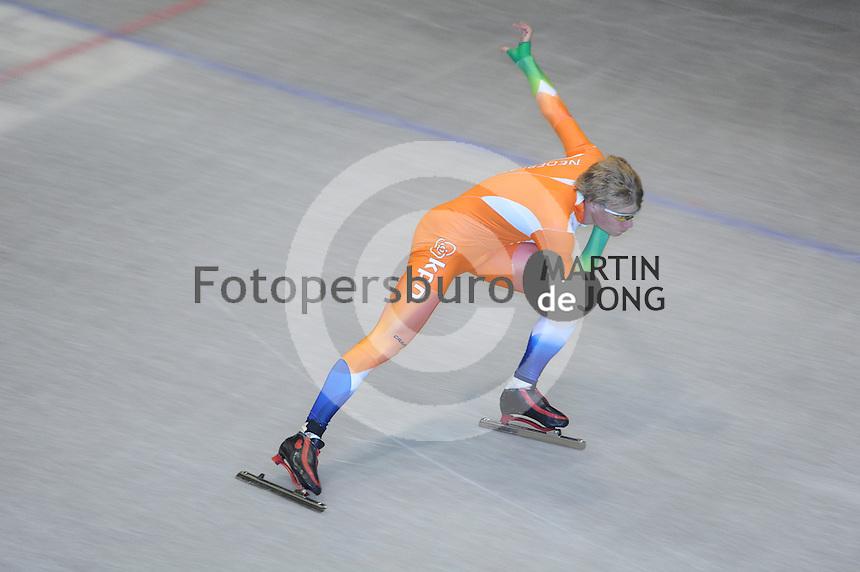 SCHAATSEN: HEERENVEEN: Thialf, 26-06-2012, Zomerijs, Jong Oranje, Thijs Roozen, ©foto Martin de Jong