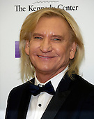 Joe Walsh of the rock band &quot;The Eagles&quot; arrives for the formal Artist's Dinner honoring the recipients of the 39th Annual Kennedy Center Honors hosted by United States Secretary of State John F. Kerry at the U.S. Department of State in Washington, D.C. on Saturday, December 3, 2016. The 2016 honorees are: Argentine pianist Martha Argerich; rock band the Eagles; screen and stage actor Al Pacino; gospel and blues singer Mavis Staples; and musician James Taylor.  <br /> Credit: Ron Sachs / Pool via CNP