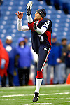 22 October 2006: Buffalo Bills punter Brian Moorman warms up prior to a game against the New England Patriots at Ralph Wilson Stadium in Orchard Park, NY. The Patriots defeated the Bills 28-6. Mandatory Photo Credit: Ed Wolfstein Photo.<br />